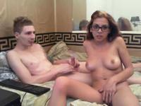 Red haired vixen getting rammed by a tattooed hunk