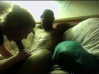 White Teen Gives Her Black BF The Perfect Blowjob