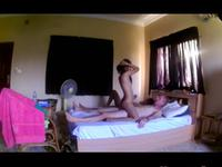 Birthday Threesome Sextape In Pattaya