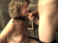 Milf bitch in a collar