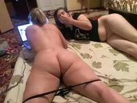 Two hot lesbians are having fun