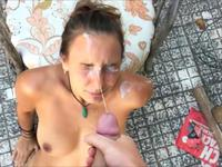 Sexy amateur ladies are getting cumshot