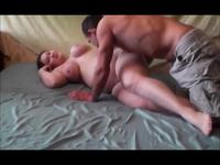 Pregnant babe is fucking