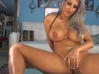 Sexy amateur blonde with big tits