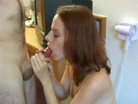 Masturbation and blowjob
