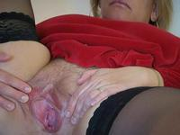 MILF gets pussy fisting and sucking cock