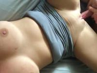Babe with a beautiful body has sex and gets a creampie