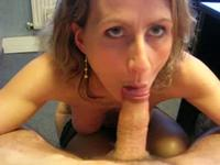 First time gagging in POV