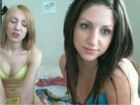 Two hot babes teasing