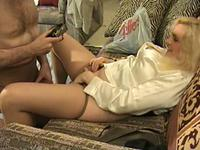 Blondie needs a hard boner