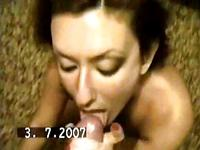 Amateur couple having wild sex
