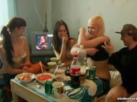 Lusty Students Love Fooling Around Together