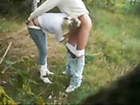My amazing sex outdoors with deep penetration
