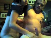 She Lets Her Boyfriend Finger Her On Webcam
